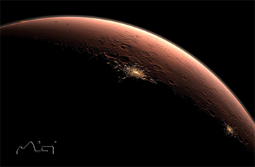 "Crowd Funding for a Workshop, to Design ""A City on Mars"""