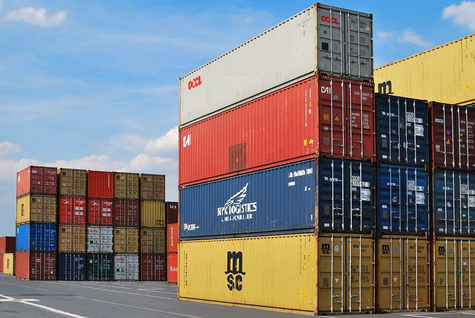 Freight Dock Cargo Container Export Shipping