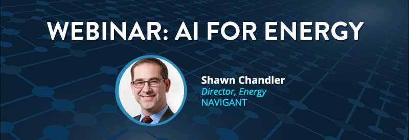 ai for energy webinar website header