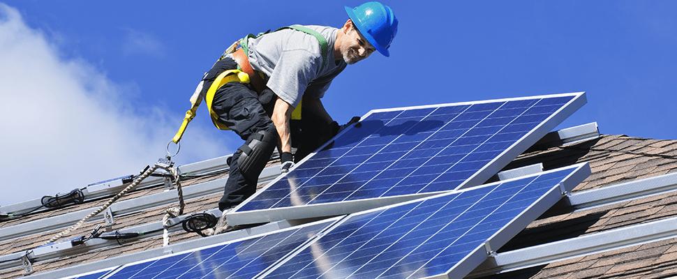 joint-venture rooftop solar EDF Energies Nouvelles ACC AEP clean energy strategy carbon dioxide emissions actis sunpower solar plant solar-power-duke-energy-fjdksalf