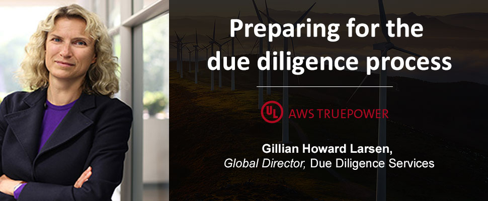 Investors planning for the due diligence process