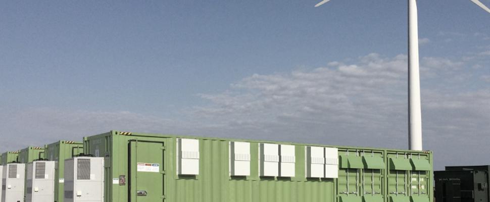 grid scale solar plus storage